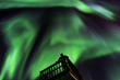 Northern Lights at Nanuk Polar Bear Lodge. Dennis Fast photo.