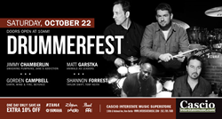 DrummerFest 2016 at Cascio Interstate Music