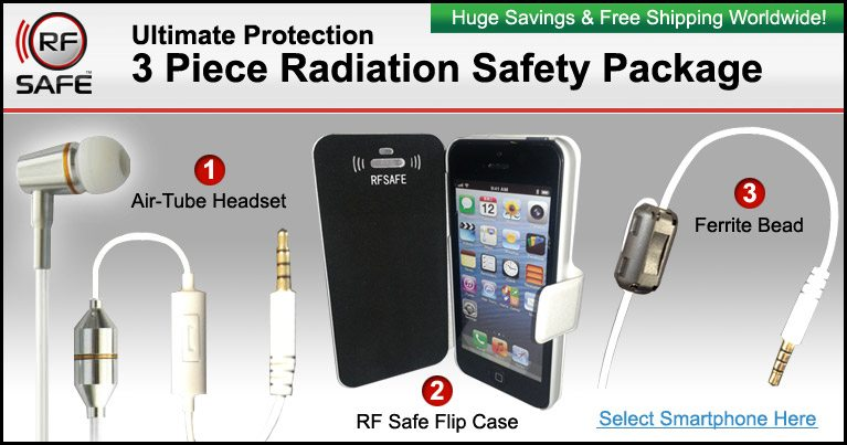 133db4f8d Use RF Safe Promo Code For Complimentary Shipping On All Cell Phone Radiation  Safety Packages