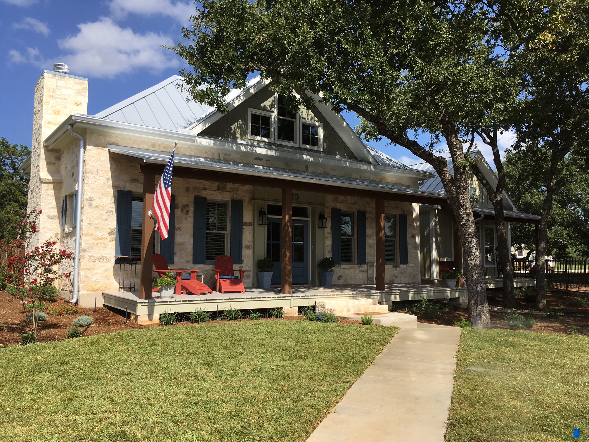 Beautiful texas vacation and dream homes in hill country Country home builders in texas