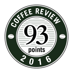 Crimson Cup Ethiopian Kossa Kebena  earns 93/100 rating from Kenneth Davids and the Coffee Review