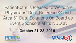 iPatientCare is Pleased to Welcome PDR and Area 51 Data Solutions in NUCON 2016