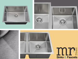 New 16 gauge 3/4 radius sinks from MR Direct