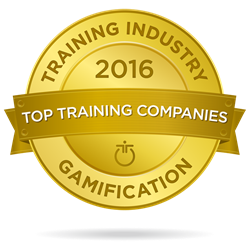 Training Industry 2016 Top 20 Gamification Company