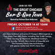 Famous Dave's Founder Celebrates Chicago Barbeque with Historic Tour on Facebook Live on October 14