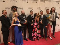 StrongMind team celebrates at the Rocky Mountain Emmy® Awards ceremony October 8, 2016