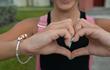 Peace Love Emoji Bracelet