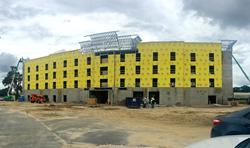 Hampton Inn Plant City Construction