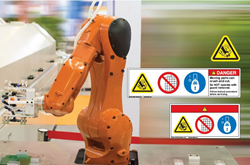Clarion Safety Systems provides best practice safety labels for the automation and robotics industries