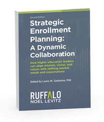Cover image of Strategic Enrollment Planning book