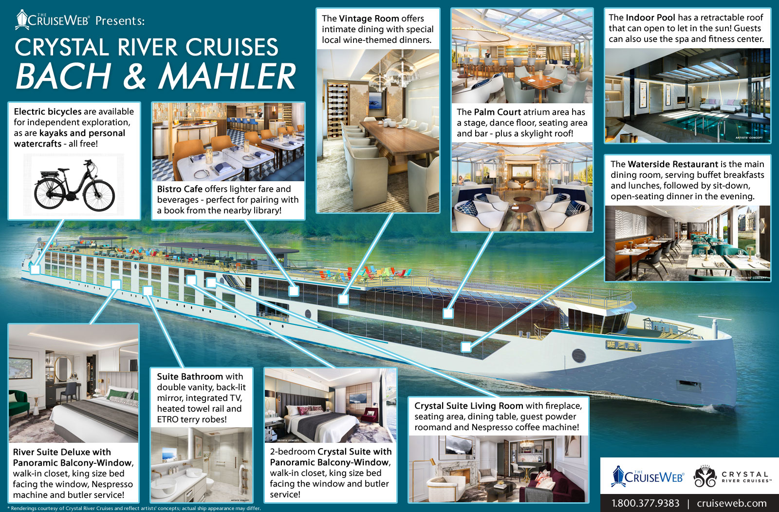 Titanic Floor Plan The Cruise Web Highlights Crystal S Luxurious New River