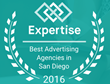 "L7 CREATIVE is Selected by Expertise as One of the ""Best Advertising Agencies"" in San Diego for 2016"