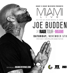 Joe Budden - The Rage Tour Miami Tour