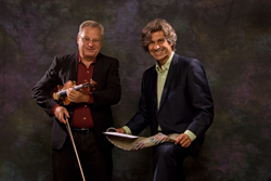 Pianist Christopher Bakriges and violinist Stanley Chepaitis