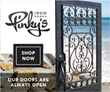 Los Angeles Based Wrought Iron Door Company, Pinky's Iron Doors, Unveils its Newest Line of Steel Entry Doors, the Air Collection, for Contemporary-Styled Homes