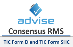 TIC Form D and TIC Form SHC on Consensus RMS