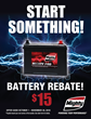 2016 Fall Consumer Rebate - Battery