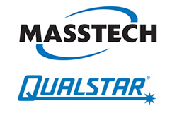 Masstech logo and Qualstar logo