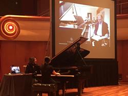 Disklavier Piano remote masterclass