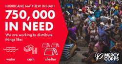 750,000 in need in Haiti
