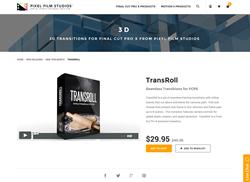 FCPX Plugin - TransRoll - Pixel Film Studios