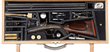 Lot 3170, a massive 4-bore H&H Hammer Double rifle with case and accessories, sold for $103,500.