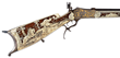 Lot 2000, an extraordinary high art, ivory inlaid Schuetzen rifle masterpiece, sold for $37,375.