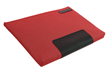 Maxwell Laptop Sleeve—Cardinal red; horizontal