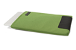 Maxwell Laptop Sleeve—Kelly green, vertical orientation