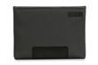 Maxwell Laptop Sleeve—Slate black; horizontal