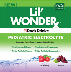 Lil Wonder from Doc's Drinks will be exhibiting at The American Academy of Pediatrics national conference in October.