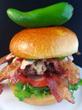 Nom Nom Bacon Burger from James Joyce Irish Pub & Eatery in Ybor City