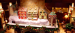 Hotel Lobby Gingerbread Village