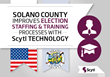 Solano County Improves Election Staffing and Training Processes with Scytl Technology