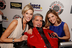 Natalie Morales and Lynne and Augie Nieto