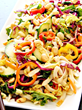 Blogger Bobbi Burleson of Bobbi's Kozy Kitchen Takes First Place in the Cold Salad Category of the JSL Foods Fortune Asian Noodle Blogger Recipe Challenge
