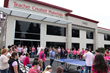 "Over 90 employees participated in the ""Pink Pong"" Tournament at Teacher Created Materials."