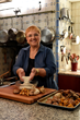 Lidia Bastianich cooking in the kitchen