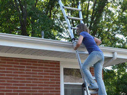 Use ladders safely.