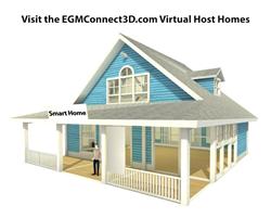 EGM Connect 3D Virtual Host Home Image