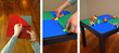 Fastest, easiest LEGO compatible surface available.