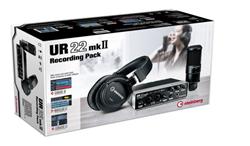 UR22mkII Recording Pack by Steinberg