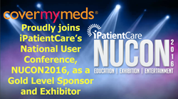 CoverMyMeds joins iPatientCare National User Conference 2016 as a Gold Level Sponsor and Exhibitor