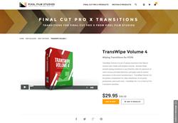 FCPX - TransWipe Volume 4 - Pixel Film Studios Plugin