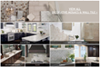 The Decorative Mosaics and Wall Tile section has been reconfigured into one seamless web page for easier navigation.
