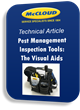 McCloud Services Provides Whitepaper on Pest Inspection Tools Needed for a Successful Food Plant Pest Management Program