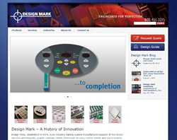 Design Mark Website Home Page