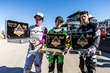 Monster Energy's Axell Hodges and Kris Foster Take Second and Third Place in the Monster Energy FMX High Rollers QuarterPipe Big Air Contest