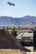 Monster Energy's Axell Hodges Takes Second Place at the Monster Energy FMX High Rollers QuarterPipe Big Air Contest