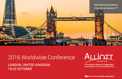 The Alliott Group 2016 Worldwide Conference is being held in London this year